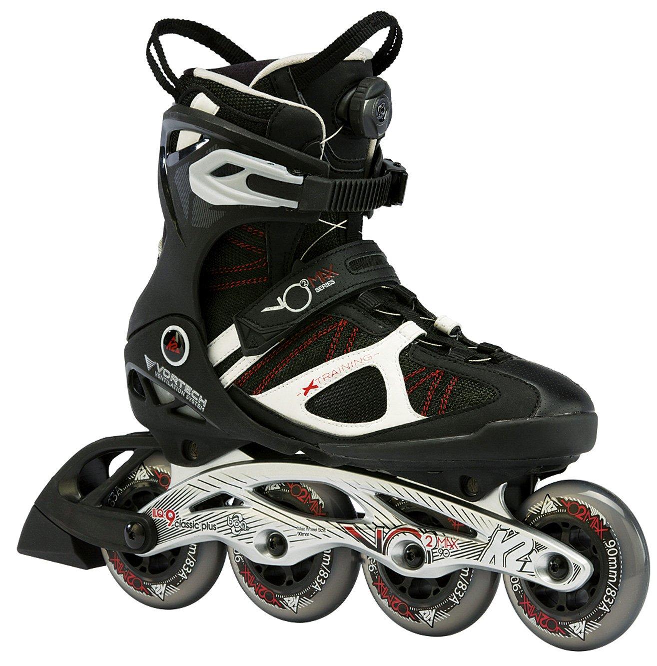 88aa74141 K2 X-Training Mens Skates Vo2 Max 90 W Boa, Men's, black
