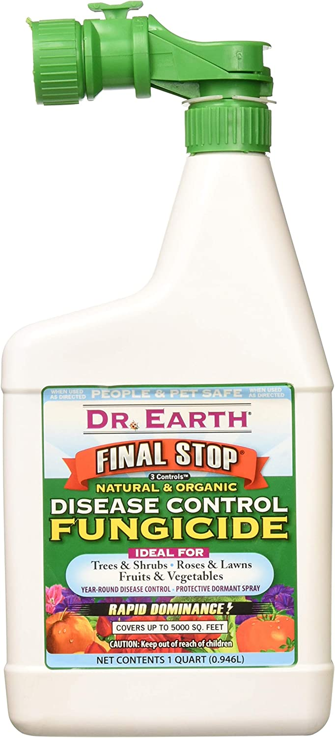 Dr. Earth 7004 Concentrate 3 Controls Organic Fungicide Hose End, 32-Ounce