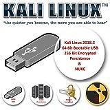 Kali Linux 2018.3 sur USB 16 Go avec stockage de persistance crypté et code NUKE