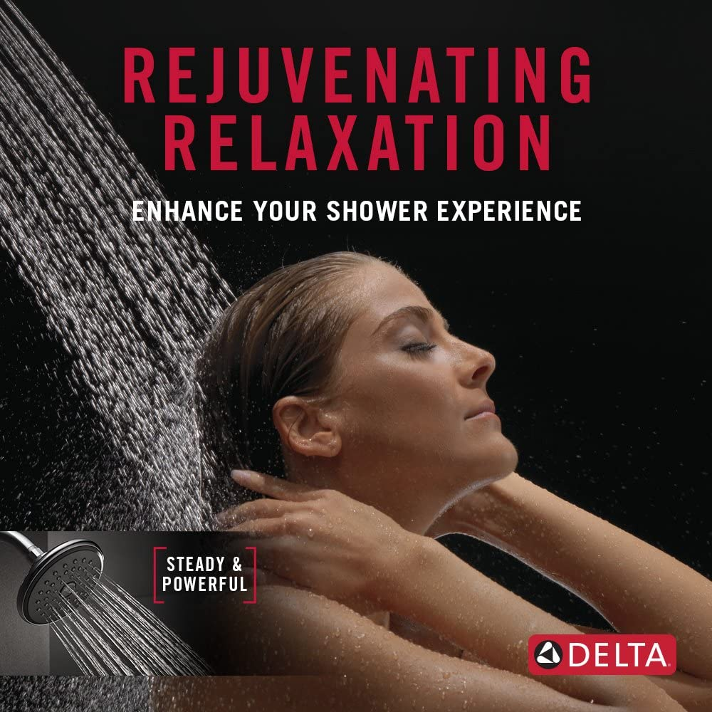 Delta Faucet Single-Spray Touch-Clean Shower Head Champagne Bronze RP51305CZ