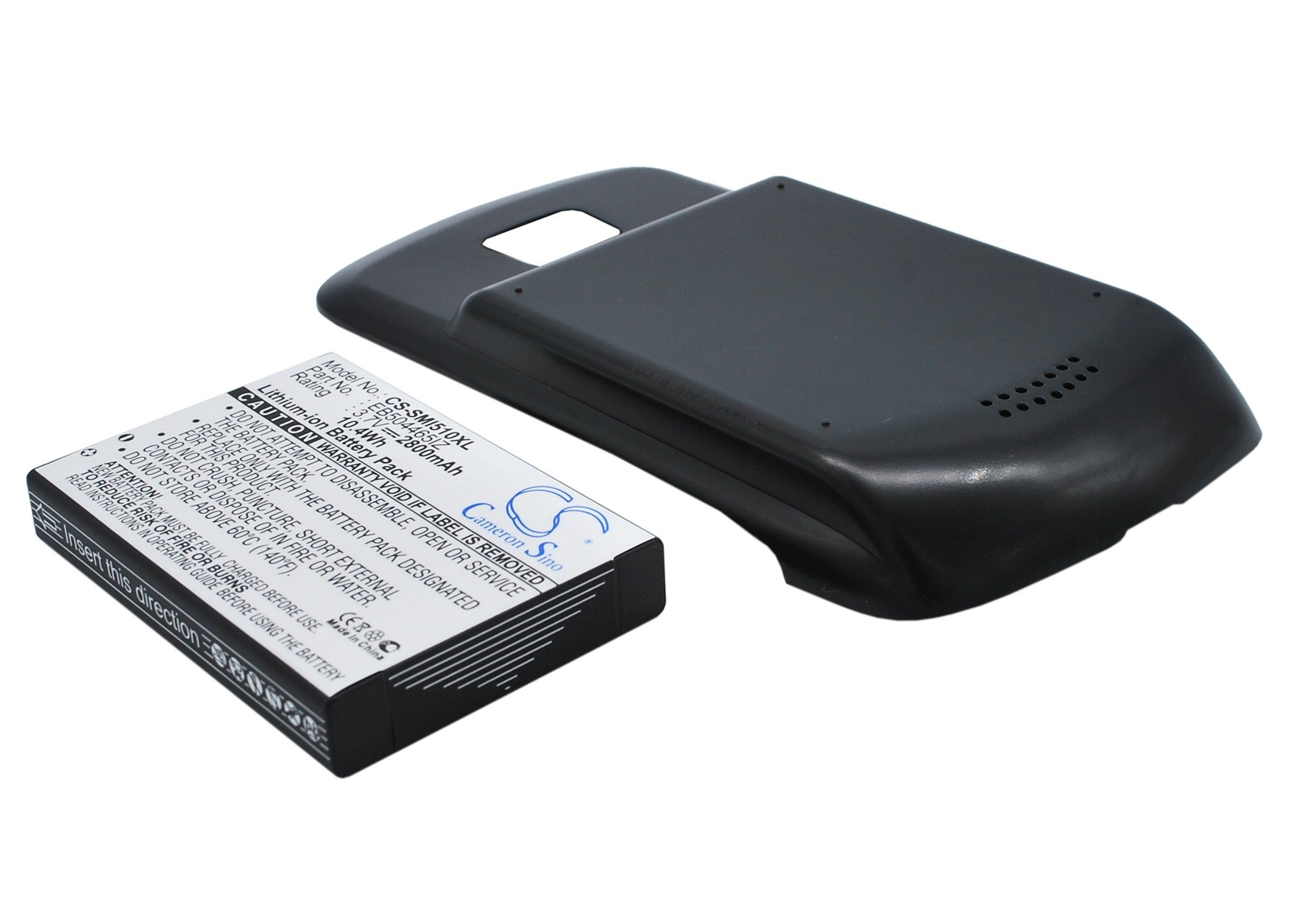 Bateria Celular DigiTech Factory Extended para Samsung Droid Charge SCH i510 2800 mAh Includes Door Cover