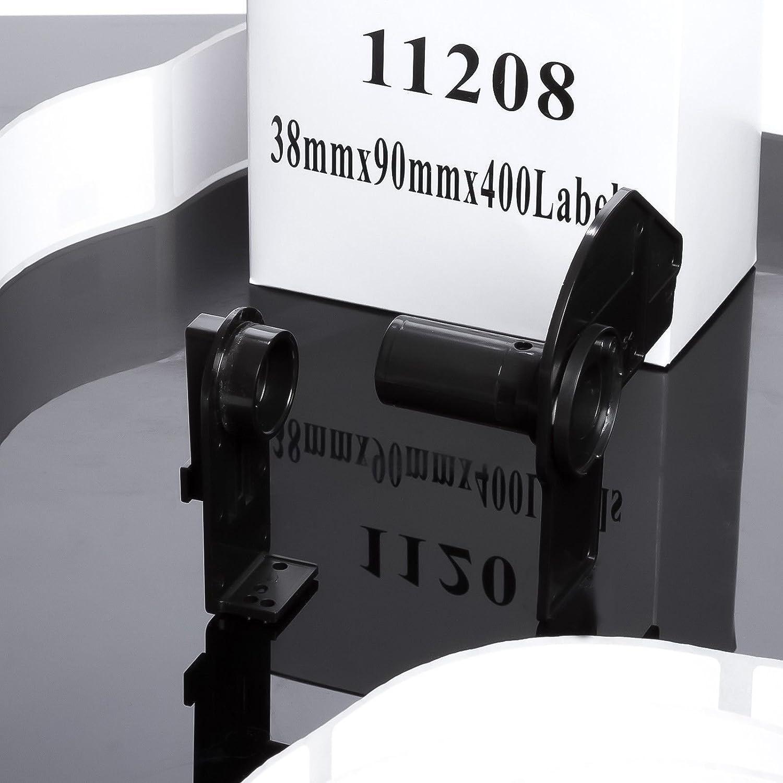 ETrader Direct 3X Kompatibel DK11208 QL-1050, QL-1050N, QL-1060N, QL-500, QL-500, QL-500, QL-500A, QL- 500BS, QL- 500BW, QL-550, QL- 560, QL- 560VP, QL- 570, QL-580N, QL-650TD, QL-1050, QL-650TD Standard Weiße Adressen Etiketten Für Brother QL Etiketten Drucke 44b715