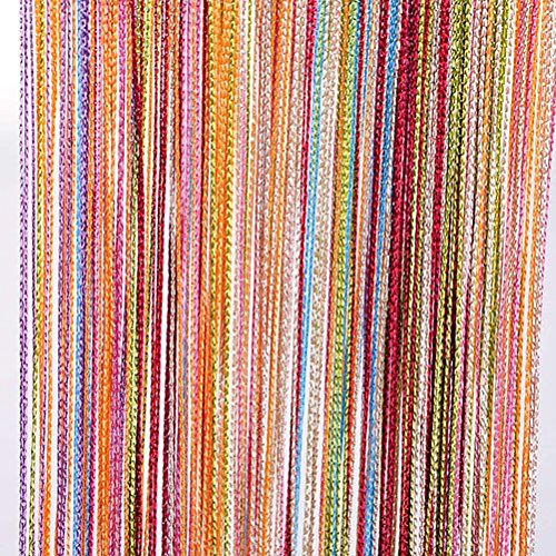 Attirant Tangpan 7 Color Colorful Door String Thread Fringe Window Panel Room  Divider String Curtain Cute Strip Tassel In Party Events