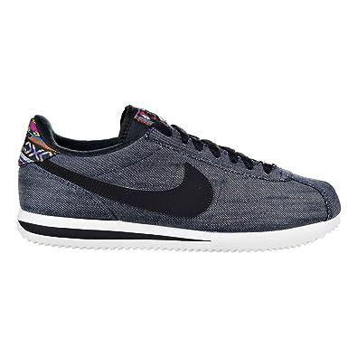brand new c3582 14a2d NIKE Cortez Basic SE Mens Shoe Dark ObsidianBlack 902803-400 Black Size
