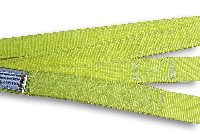 | Type 5 Choker 2,500 Lb EN1-801 3,200 Lb HSI One Ply Single Leg 1 x 3 Endless Nylon Sling | Basket 6,400 Lb Vertical Capacity