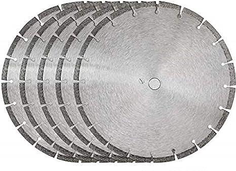 Amazon.com: 5 hojas de sierra de diamante de 14 pulgadas ...