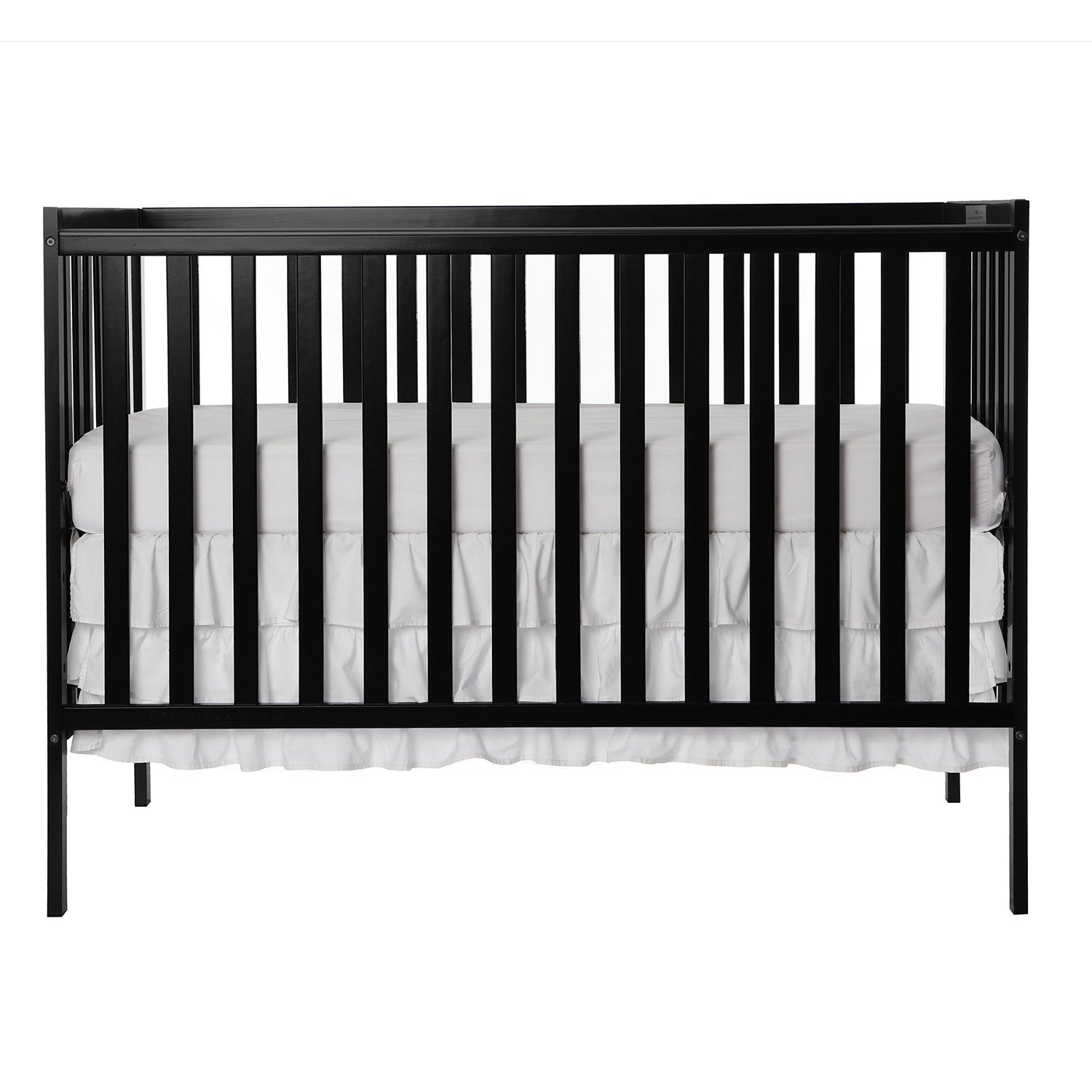 Dream On Me Synergy 5-in-1 Convertible, Crib, Black by Dream On Me