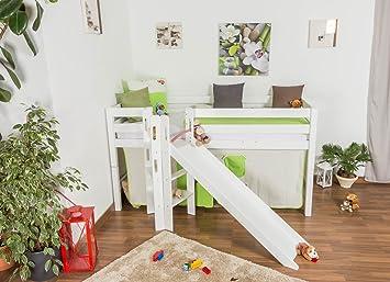 Kinderhochbett mit rutsche  Kinderhochbett mit Rutsche: Amazon.de: Baumarkt