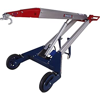 Makinex Pht 140 Powered Hand Truck With Hook 309 Lb