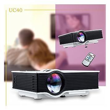 Walio UNIC UC40 Proyector Portátil Multimedia 1080P HD con Mando a ...