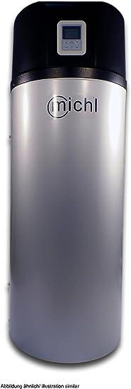 200 Liter Brauchwasserw/ärmepumpe Brauchwasser W/ärmepumpe Warmwasserspeicher mit W/ärmetauscher