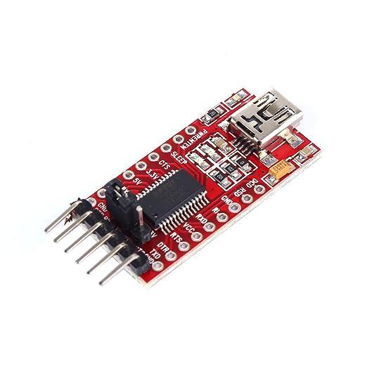 9 opinioni per tinxi® FT232RL FTDI USB a TTL Serie