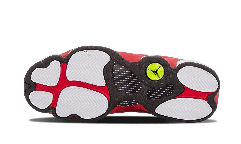 sale retailer 50d18 f293c ... cheap nike air jordan 13 retro blanco bg zapatillas de white deporte  para niños blanco negro