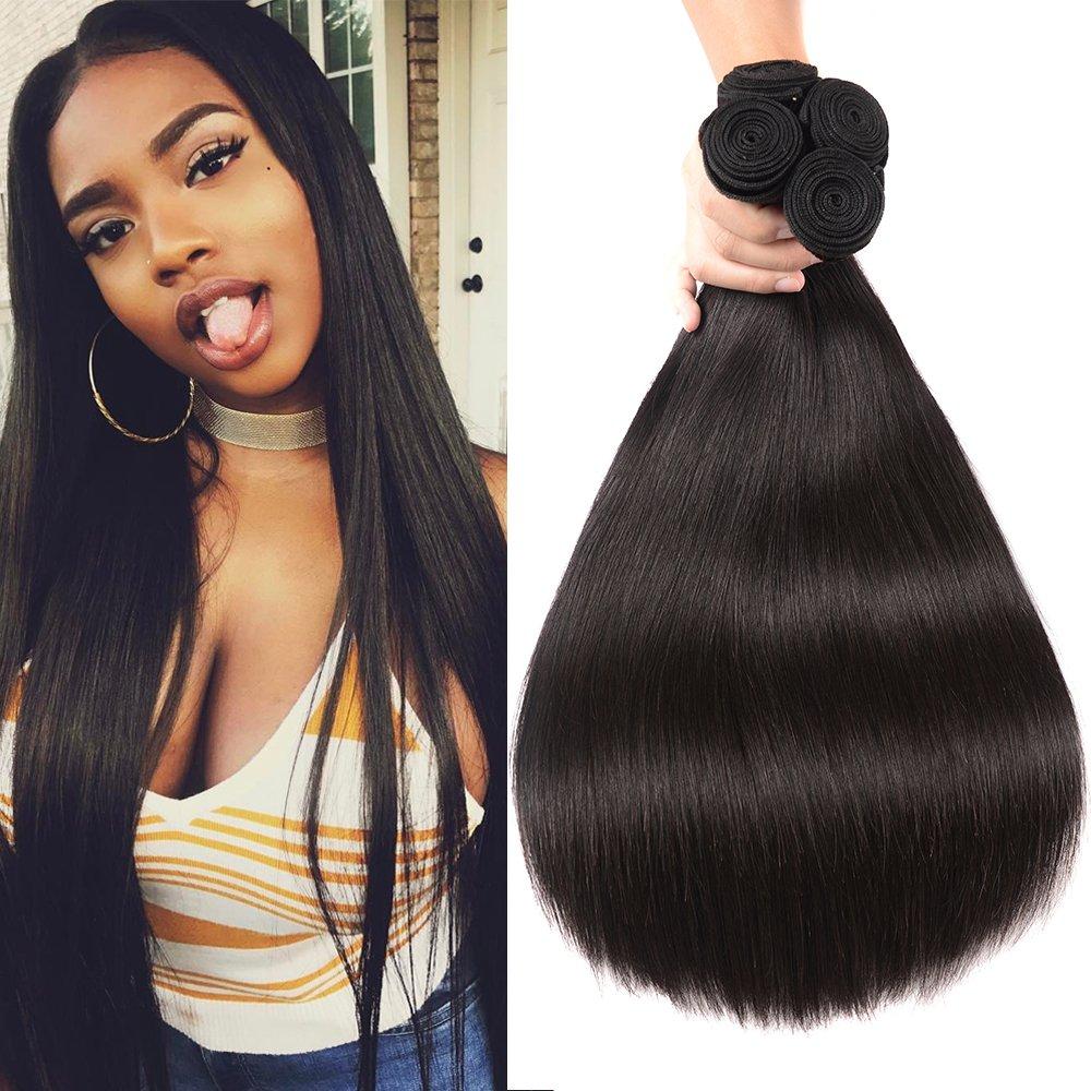 Amazon Magic Show Human Hair Brazilian Virgin Hair Straight 4