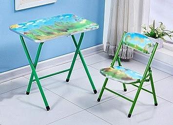 Niños Muebles Accesorios Escritorio de plástico Juego de mesa y ...