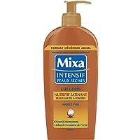Mixa Intensiv för torr hud – närande kroppsmjölk för silkeslen hud, för blek till solbränd hud – 400 ml