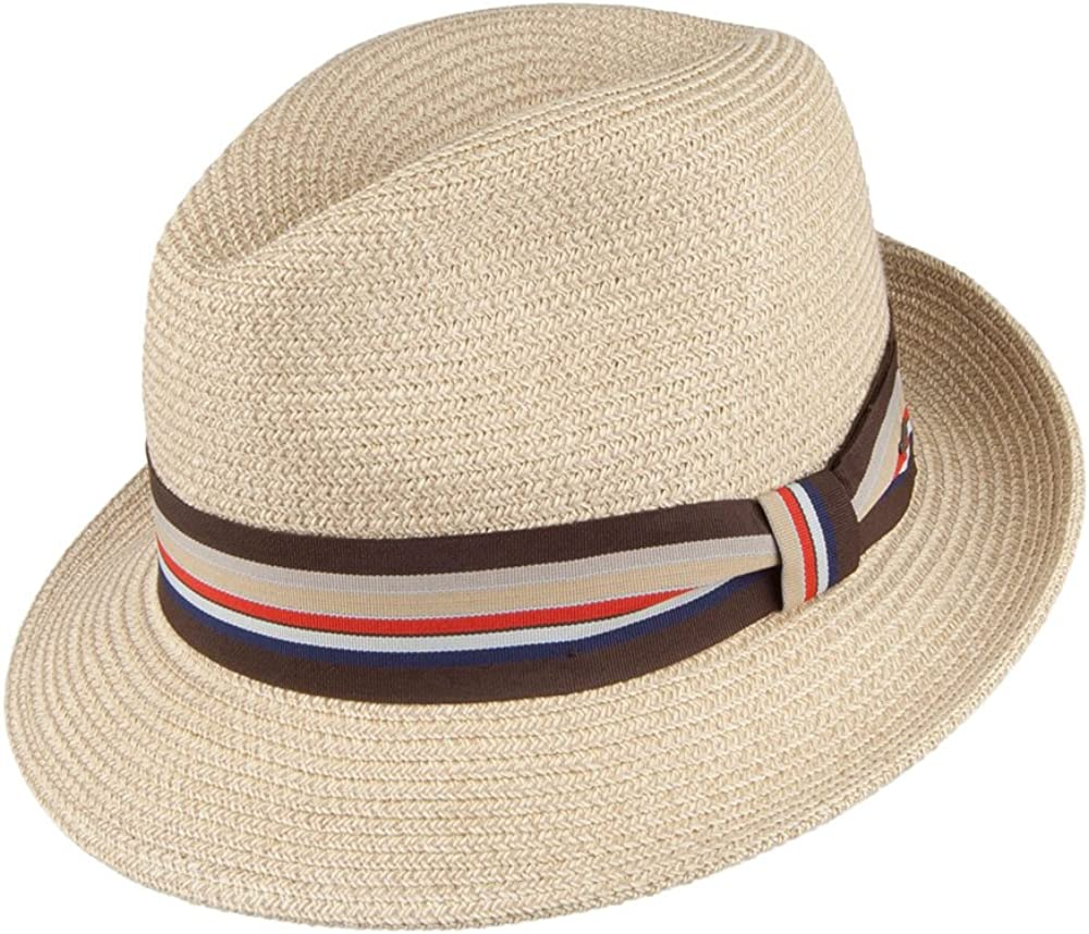 Natural Bailey Hats Salem Fedora