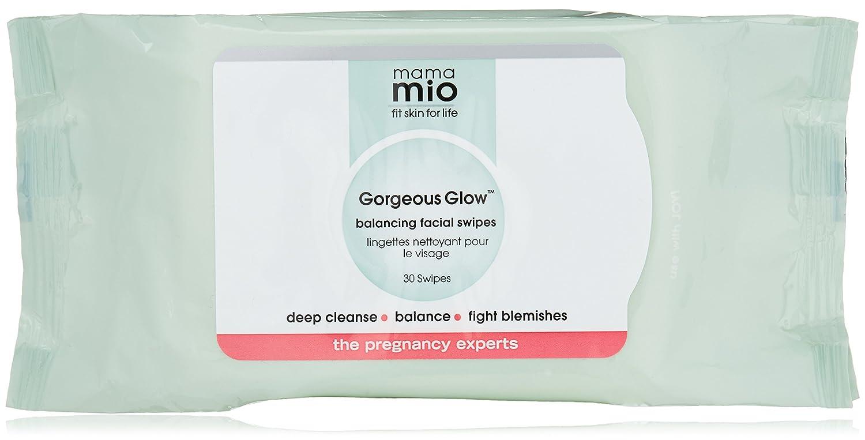 Mama Mio toallitas limpiadoras para Facial Gorgeous Glow: Amazon.es: Belleza