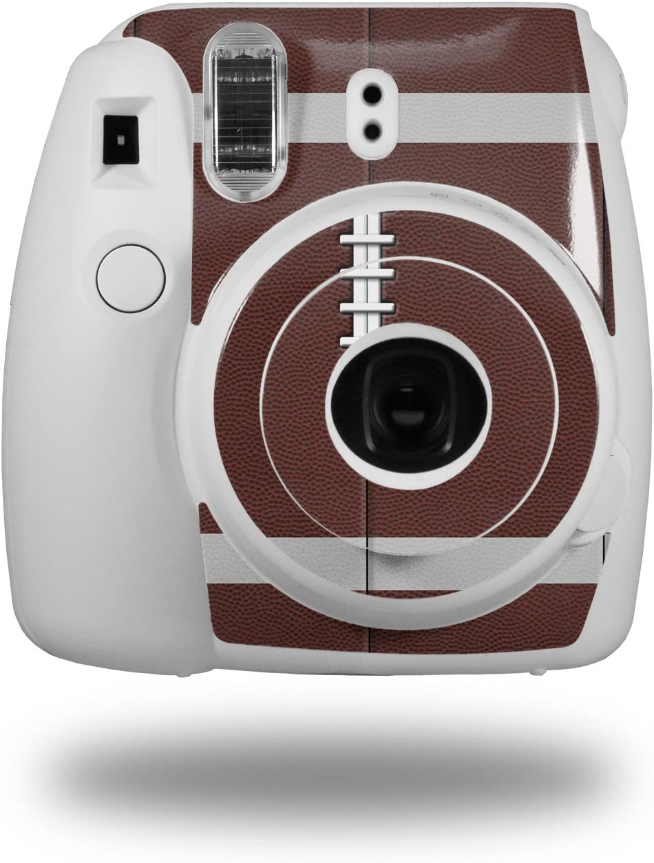 Camera NOT Included WraptorSkinz Skin Decal Wrap for Fujifilm Instax Mini 8 Camera Football