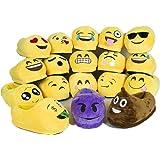 Sabe Unisxe Women Men Home Creative Emoji Cartoon Expression Funny Soft Couple Slippers