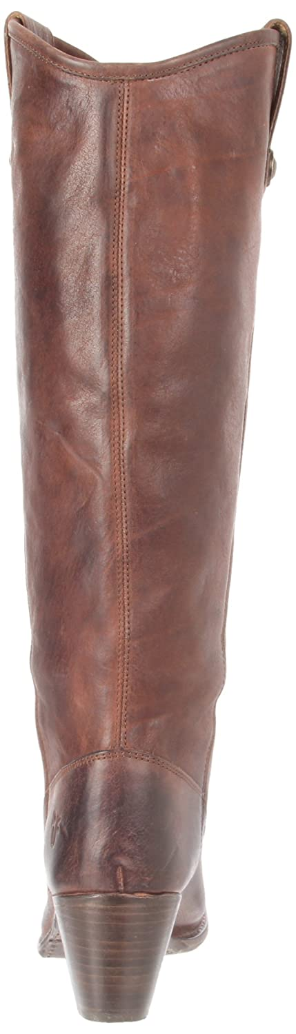 FRYE Women's Jackie Button Boot B004W23964 11 B(M) US|Dark Brown Pressed Nubuck-76575