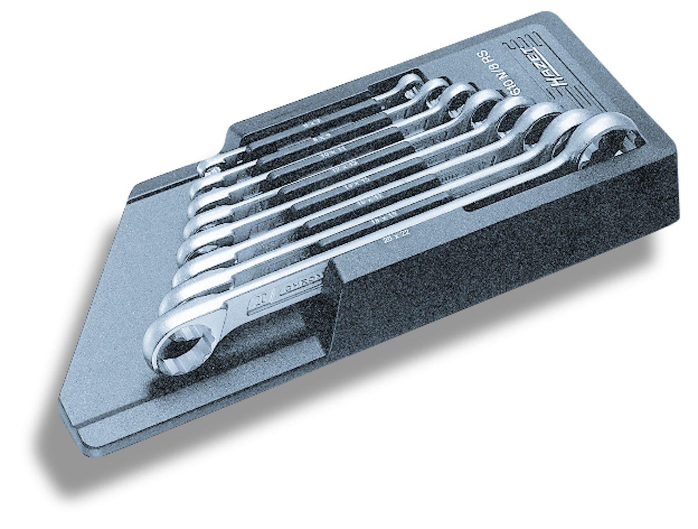 Hazet 610N/8RS Double Box-End 6x7-21x22 8Piece Wrench Set