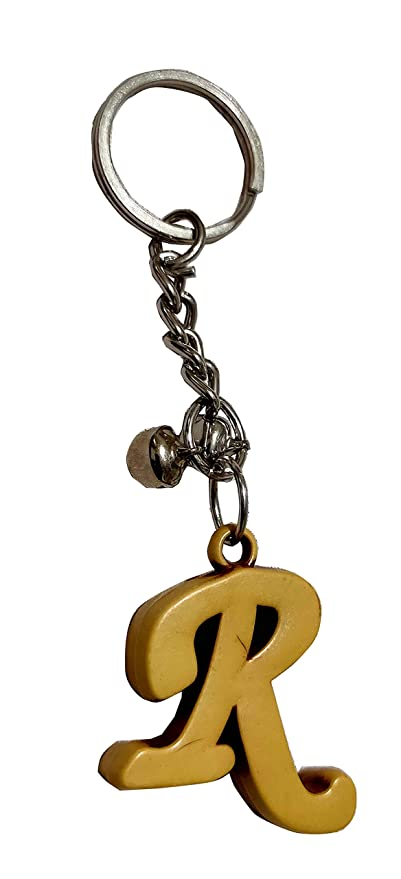 Wooden Key Ring /'R/'
