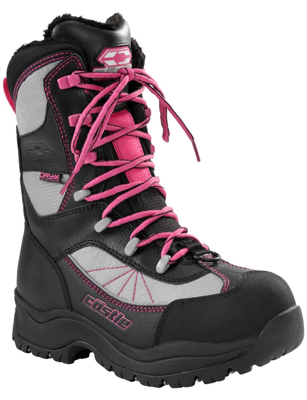 Castle X Force 2 Women\'s Snowmobile Boot Gray SZ 6 Force 2 Women' s Boot