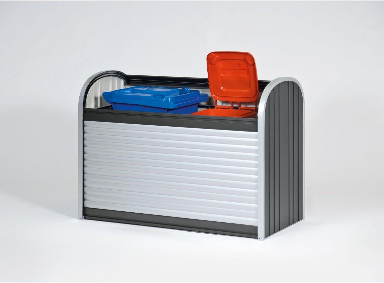 Northern Sheds StoreMax 120 - Arcón metálico, color plateado