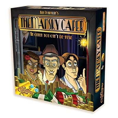 The Mansky Caper - Family Board Game for 2 to 6 Players: Toys & Games