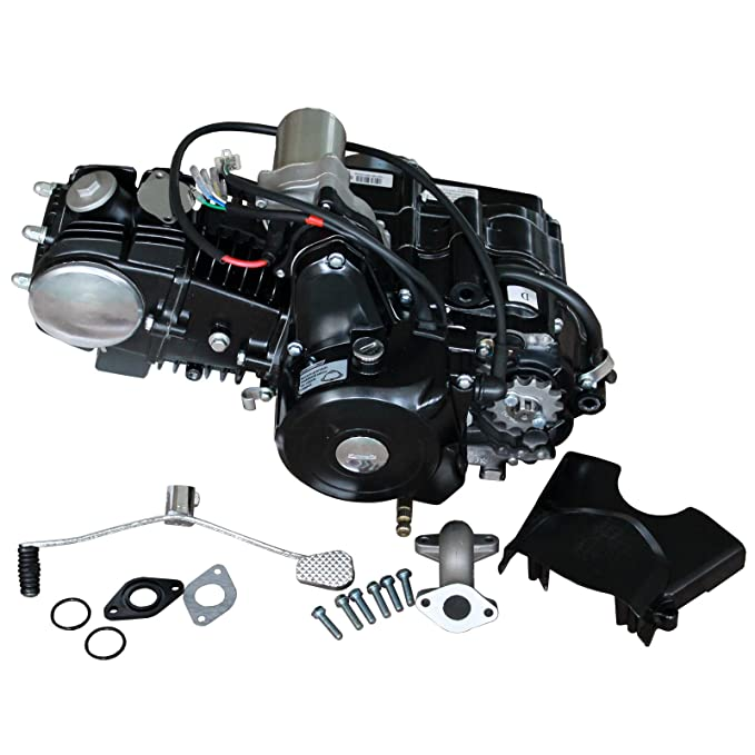 Amazon.com: DongFang 125CC 4 Stroke Auto w/Reverse Engine Motor for 70cc 90cc 110cc Go Kart ATV: Automotive