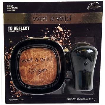 Amazon.com : Wet n wild fergie to reflect shimmer palette Rose golden goddess : Beauty