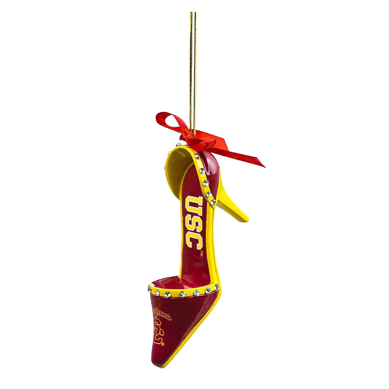 Amazon.com : USC Trojans Official NCAA 3 inch x 1.5 inch Team Shoe ...