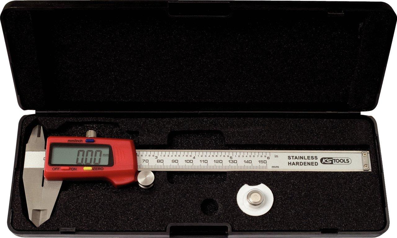 KS Tools 300.0532 - Calibre digital (0-150 mm) 4042146364468
