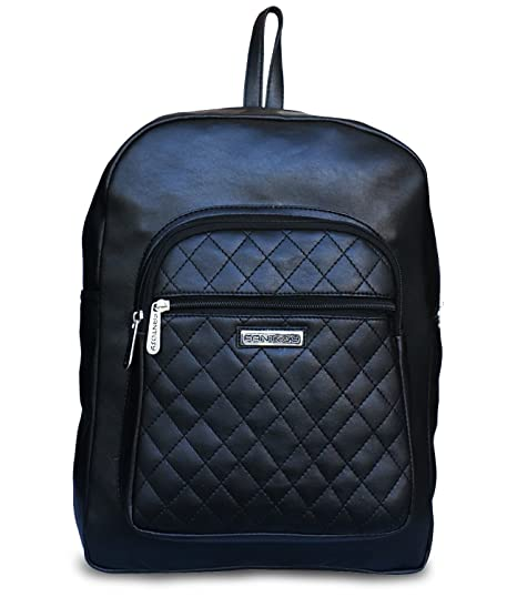 Buy Fantosy Black Backpack Women Shoulder Bag Online at Low Prices in India  - Amazon.in fdfe36e2749bb
