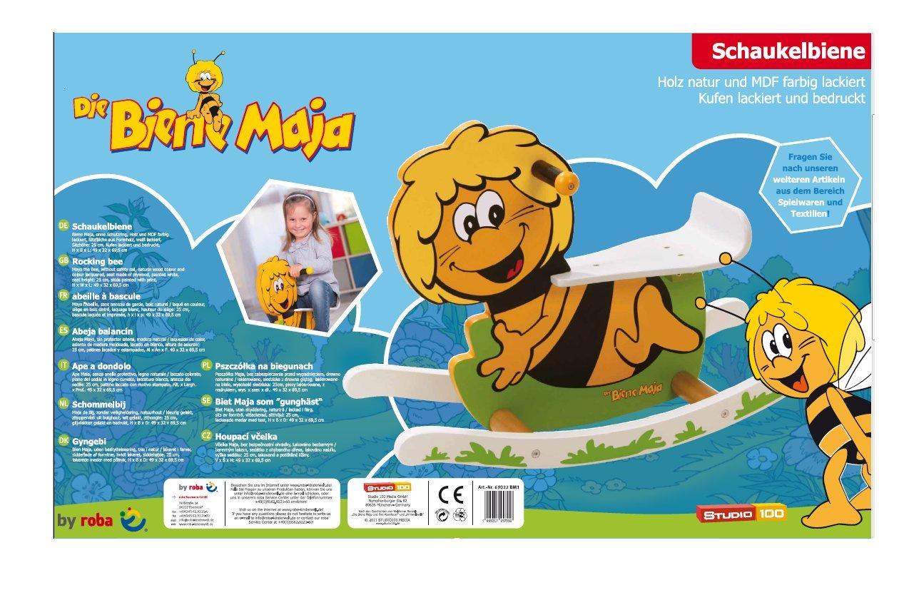 Roba Kids Schaukelbiene Schaukeltier Biene Maja  NEU Holzspielzeug