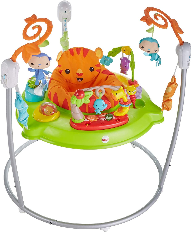 Fisher-Price Saltador animalitos de la selva, para bebé +1 año (Mattel CHM91) , color/modelo surtido
