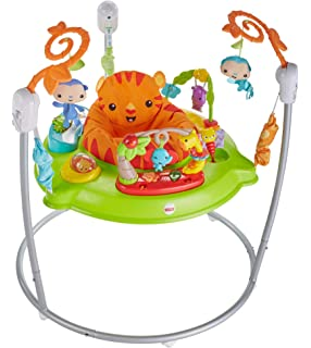 Shop For Cheap Fisher-price Rainforest Spacesaver Jumperoo│portable/adjustable Baby Bouncer│new Clients First Baby Swings