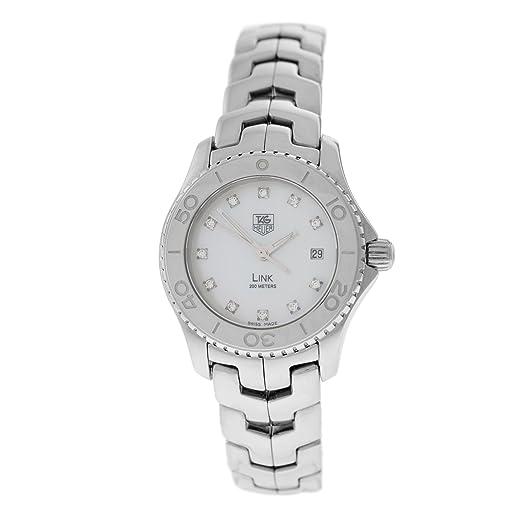 TAG Heuer Link automatic-self-wind Womens Watch wj1319ba0572 (Certificado) de segunda mano: Tag Heuer: Amazon.es: Relojes