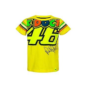 VR46 Valentino Rossi Kids - Camiseta The Doctor 46 - Tiras Diseño - MotoGP: Amazon.es: Deportes y aire libre