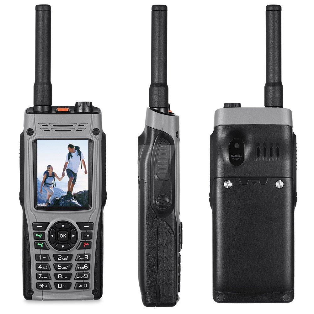 Rugged Cell Phones Unlocked Topsma GSM Military Smartphone Waterproof Shockproof and Dustproof Mobile Phone Dual SIM (Gray)