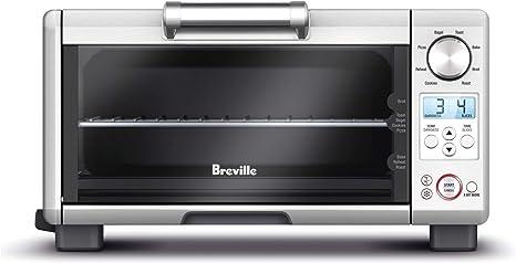 Amazon Com Breville Bov450xl Mini Smart Oven With Element Iq Countertop Ovens Kitchen Dining