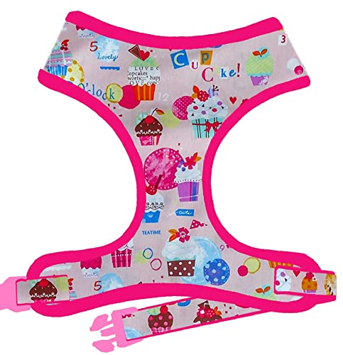 Amazon.com  Cupcake Birthday dog harness Vest - Custom Handmade harness   Handmade e7af41d65fd6