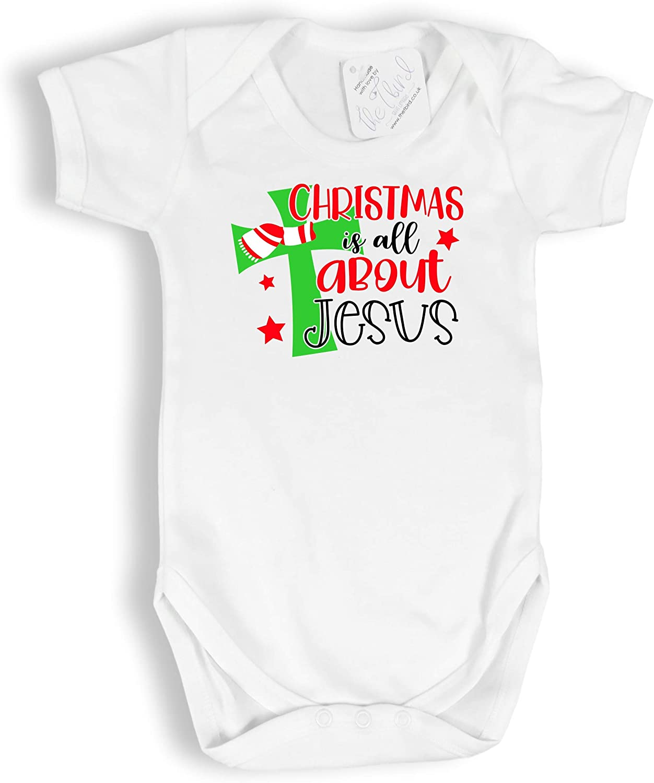 Christmas Pyjamas FunkyShirt My First Xmas Baby Grow My First Christmas Babygrow Babys First Christmas Baby Christmas Outfit Baby Romper Suit Cute First Xmas Gifts