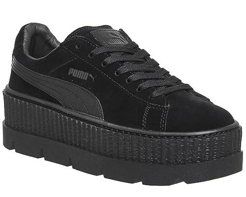 Puma x Fenty Cleated Creeper Suede Black by Rihanna - 40.5: Amazon.es: Zapatos y complementos
