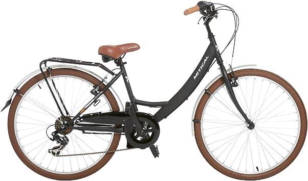 Bicicleta Vintage Paseo MÍTICAL ASTON Negro (Talla: T.U.): Amazon ...