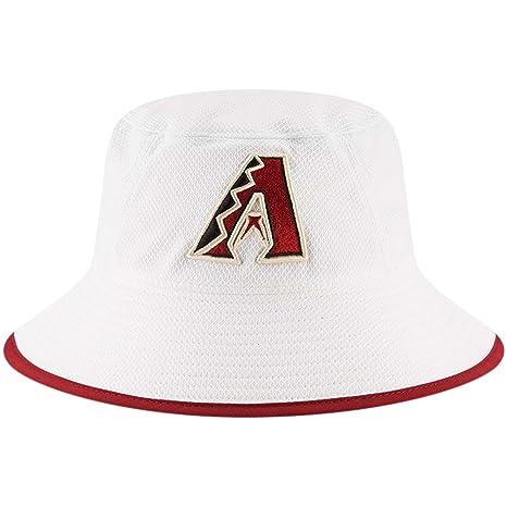 Amazon.com   Arizona Diamondbacks New Era Team Bucket Hat White ... adf08244f4f