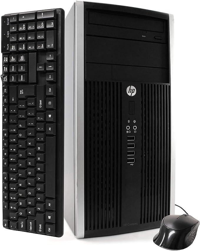 HP Desktop Computer 6300 Tower Intel Core i7 3770 3.4GHz 8GB DDR3 Ram 3T Hard Drive Windows 10 Professional (Renewed) | Amazon