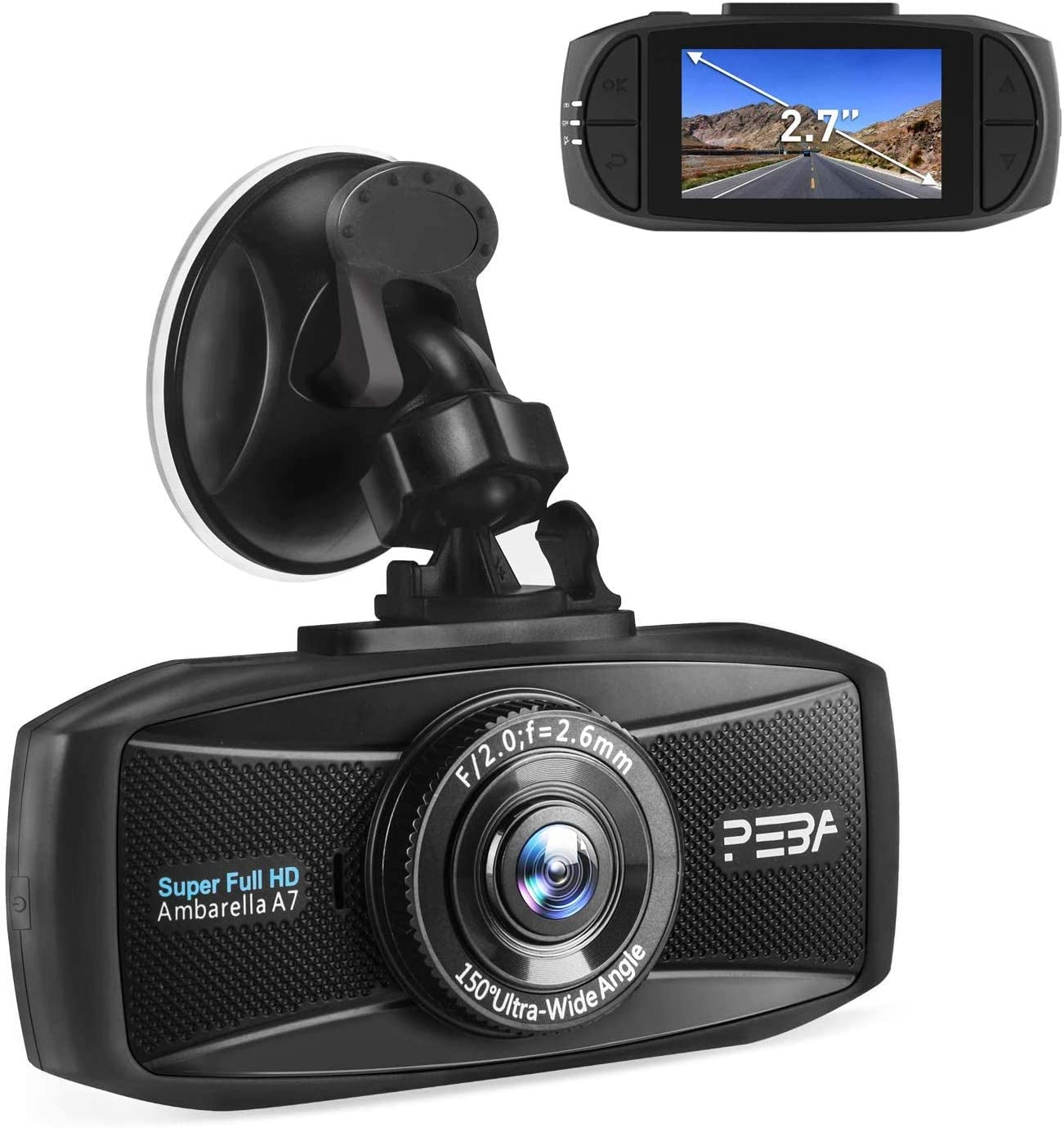 Dashcam Dashcam Auto 1296p 2k Extreme Hd Pro Elektronik