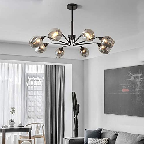 Modern Glass Chandelier Light